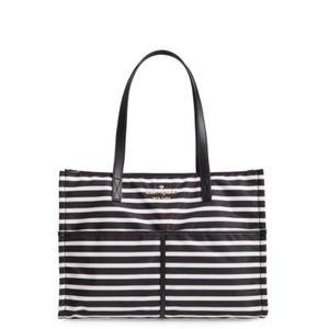 Kate Spade Striped Watson Lane Mega Sam Tote Bag